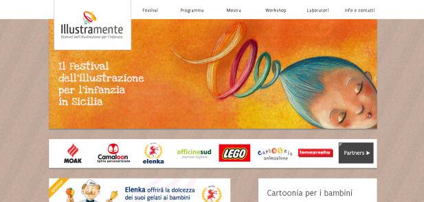 Illustramente - Sviluppo sito web